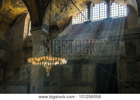 Hagia Sophia Interior, Istambul, Turkey