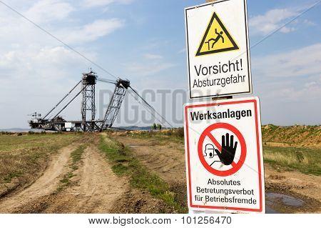 Warning Mine