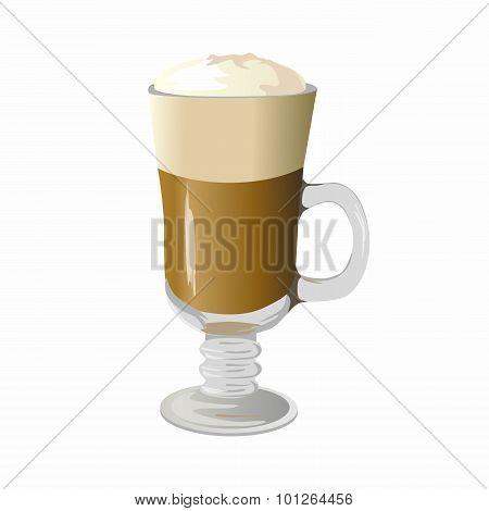Cafe Latte vector illustration