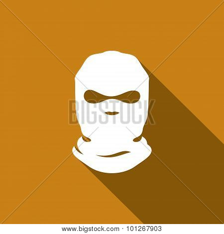 Mask Terrorist Vector Sign