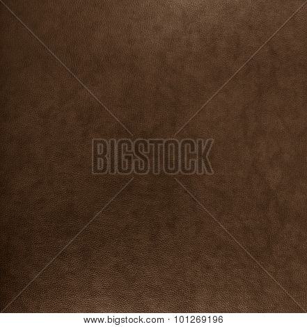 Brown Leather Texture Background Surface.