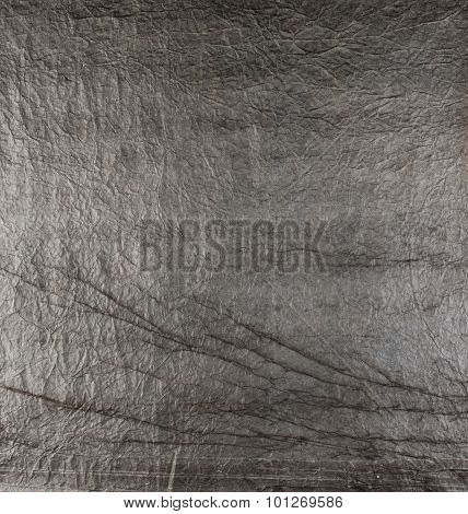 Wrinkled Paper, Used As Background Texture.