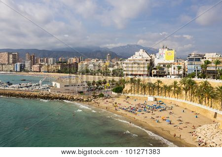 Beach Of Benidorm