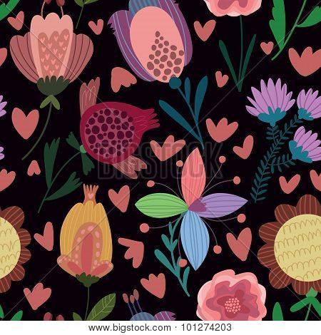Cute Seamless Pattern.right Seamless Pattern Can Be Used For Wallpaper, Pattern Fills, Web Page Back