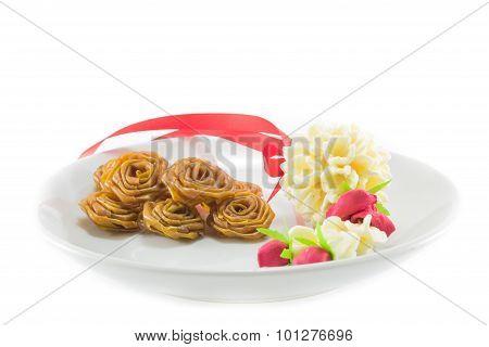 Mango Stir In Dish