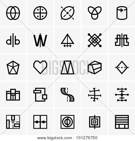 Symmetry icons