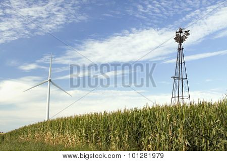 Old and New Windmills