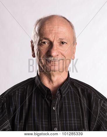 Portrait Of A Senior Smiling Man
