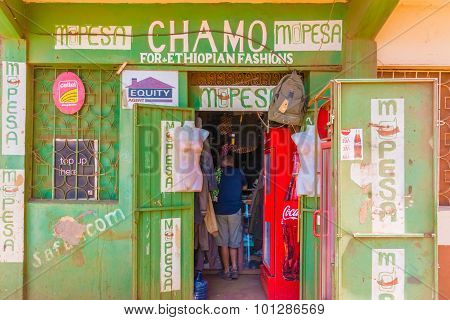 Fashion Store In Marsabit, Kenya.