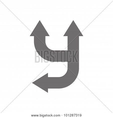 Letter Y Logo Concept Icon. Vector