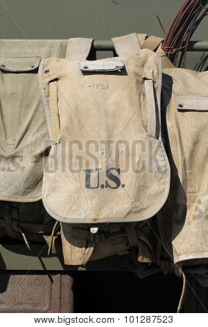 Old US Army bag