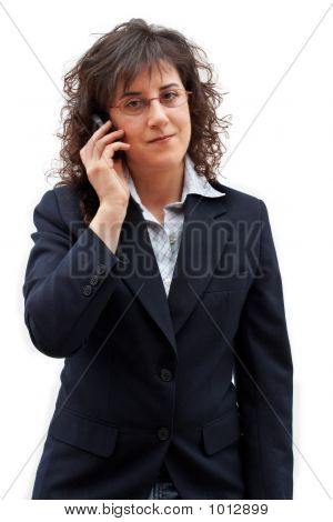 Business Woman Call