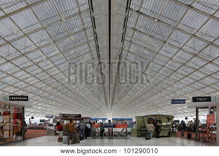 Terminal Paris Charles De Gaulle Cdg Airport