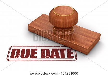 Stamp due date