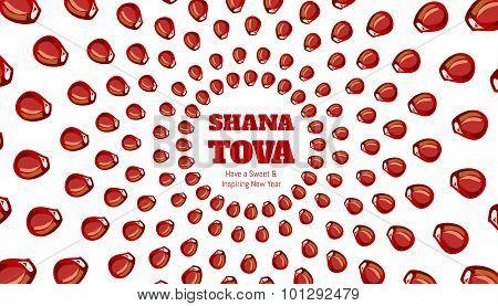 SHANA TOVA - Greeting card
