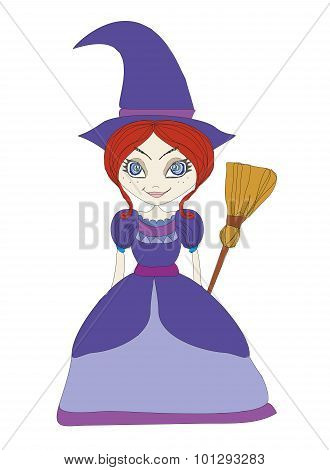 Beautiful Little Witch