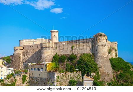 Old Aragonese-angevine Castle In Gaeta, Italy