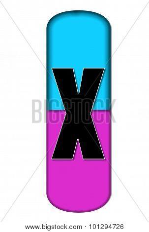 Alphabet Capsule X