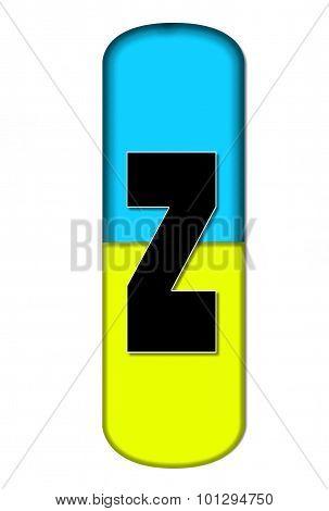 Alphabet Capsule Z