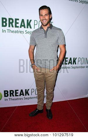LOS ANGELES - AUG 27:  Brad Benedict at the