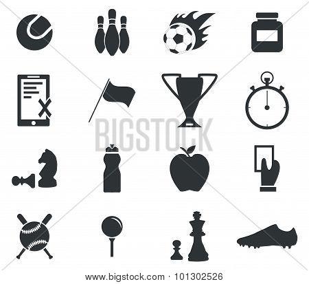 Sport icon set , simple