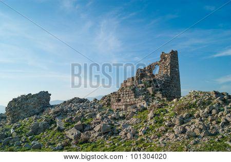 Ruins In Pergamon