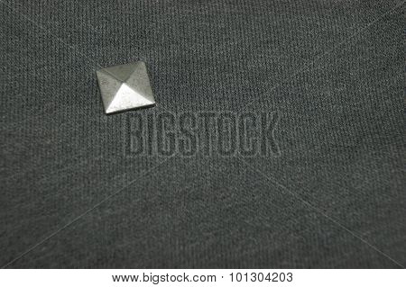 Textile With A Stud