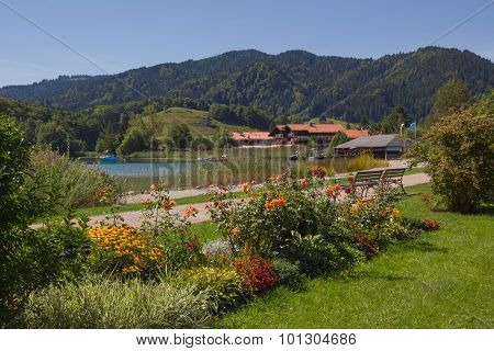 Recreational Area Spa Gardens Schliersee