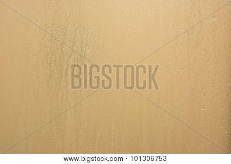 Translucent Water Wet Background In Bathroom
