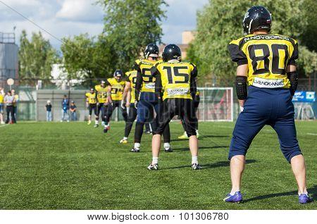Raiders Team. Nizhny Novgorod City. Russia