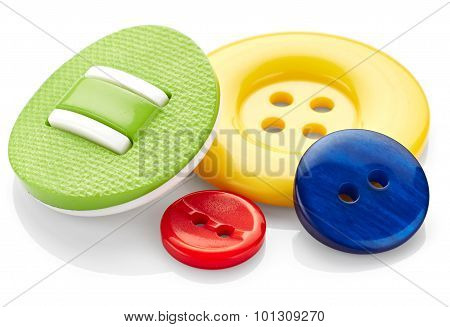 Coloured Sewing Buttons