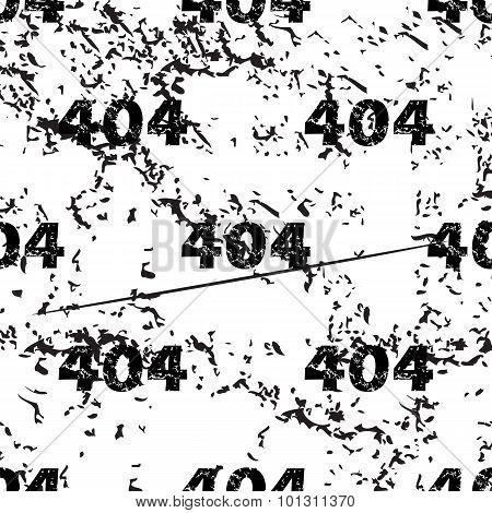 404 pattern grunge, monochrome
