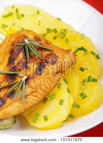 Baked Whitefish With Orange Juice