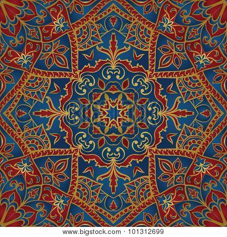 Stylized Oriental Pattern.