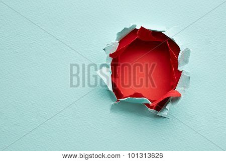 Hole In The Paper