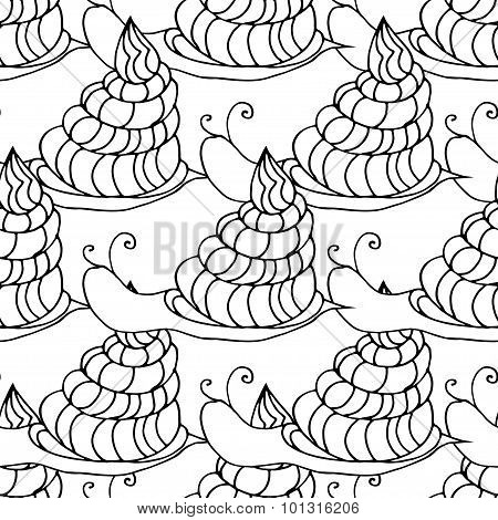 snail background