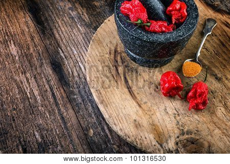 Very Strongly Hot Pepper Carolina Reaper