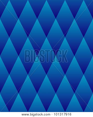 Seamless Pattern. Geometric Tiles With Rhombuses