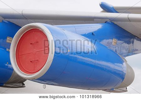 The image of a passenger plane