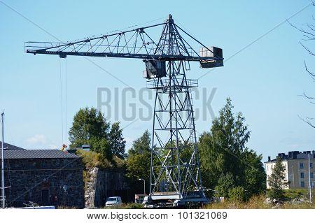 Vintage Industrial Crane