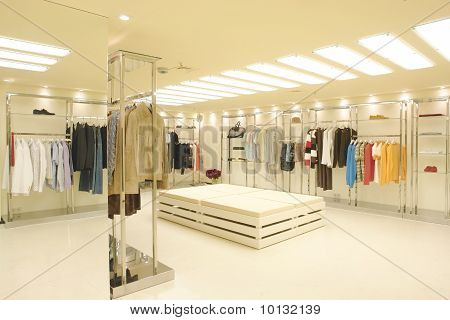 interior of a shop