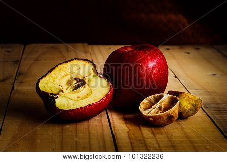 Rot And Withered Fruits
