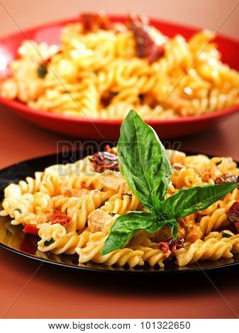 Pasta Collection - Fusilli With Salmon And Dried Pepper