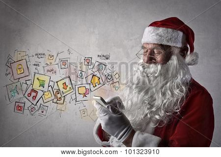Santa Claus messages