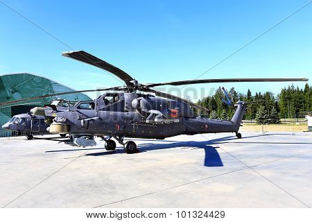 Combat Helicopter Mi 28H