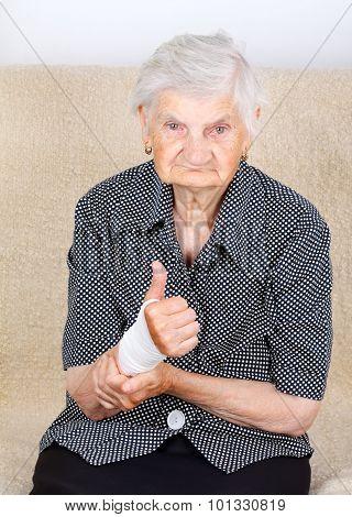 Wrist Contusion