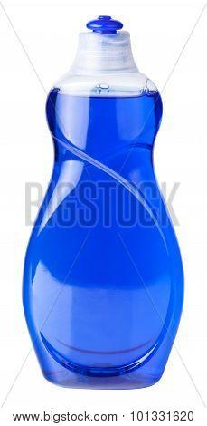 isolated dish soap bottle