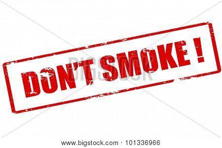 Don T Smoke