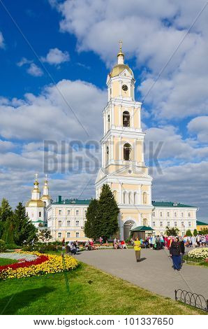 The Bell Tower Of Holy Trinity Seraphim-diveevo Convent, Diveevo, Russia