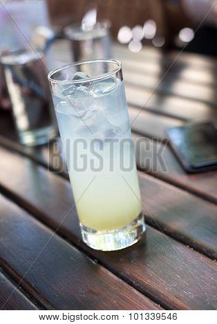Homemade Fresh Lemonade Drink